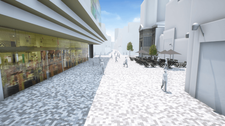 Réamenagement de la rue Neuve