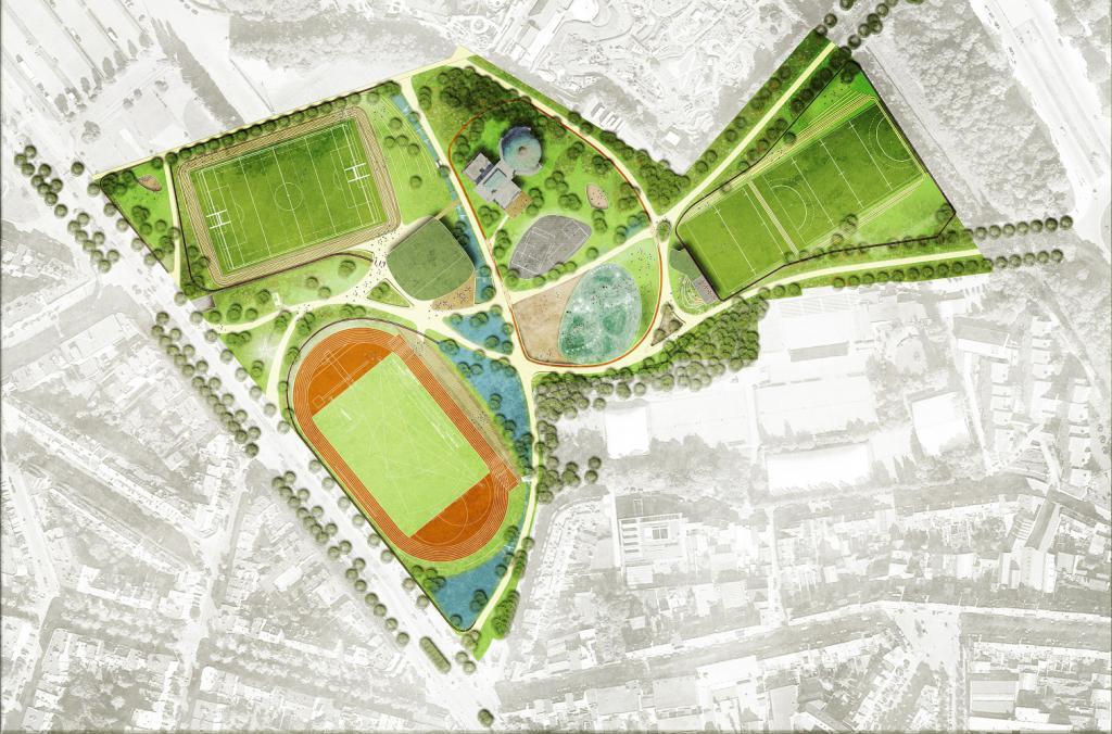 Parc des sports (plan)