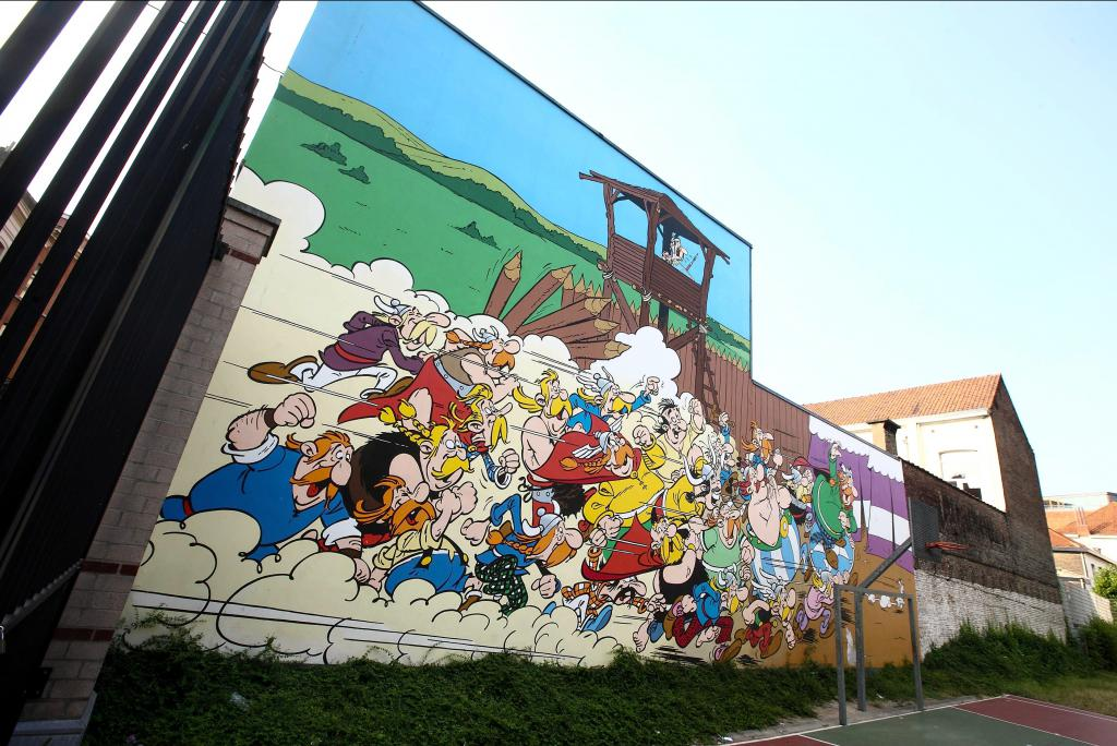 Astérix et Obélix (Goscinny et Uderzo) - Rue de la Buanderie