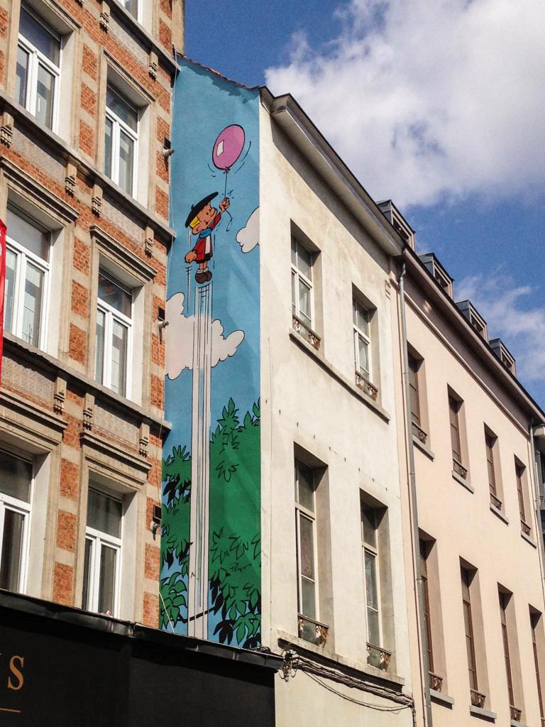 Benoît Brisefer (Peyo) - Rue Haute