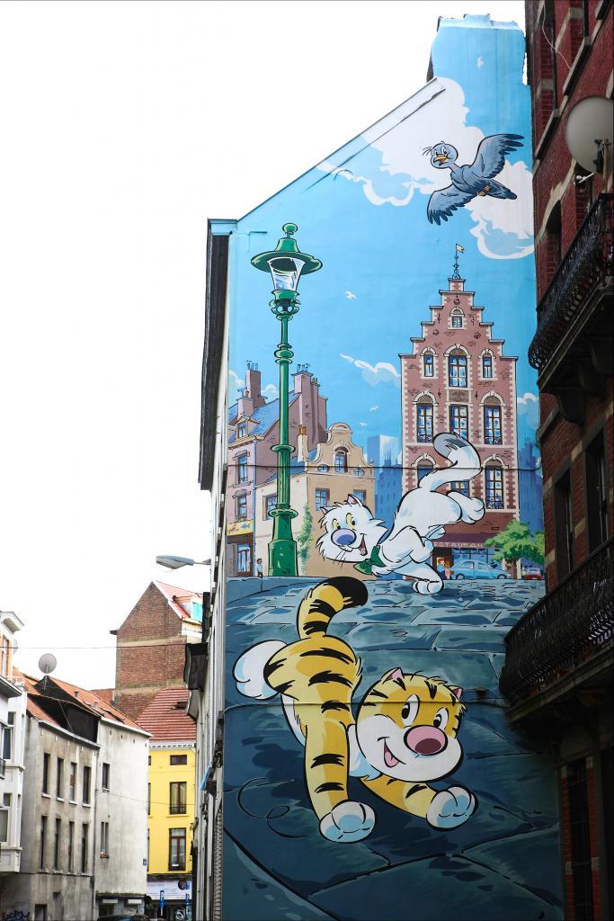 Billy the Cat (Colman & Desberg) - Rue Dophem
