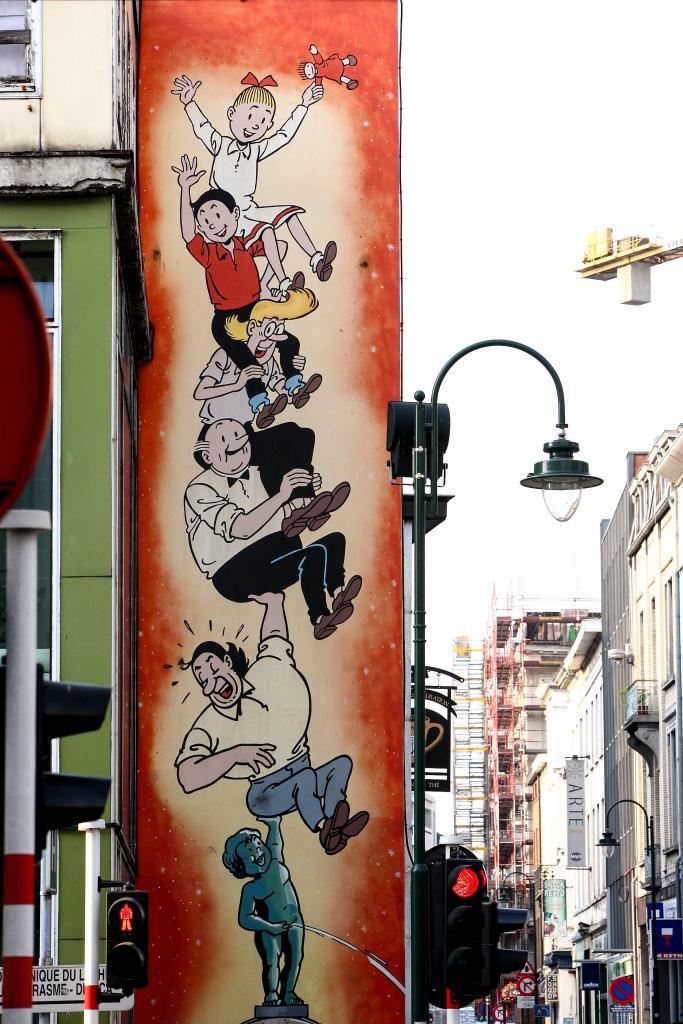 Bob et Bobette (Vandersteen) - Rue de Laeken