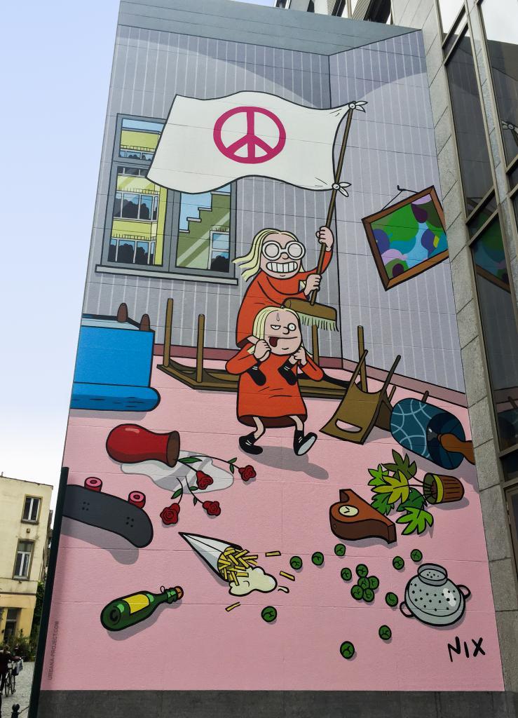 Kinky et Cosy (Nix) - Rue des Bogards