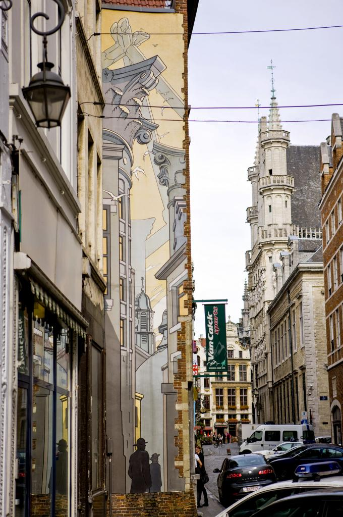 Le Passage (Schuiten) - Rue du Marché au Charbon