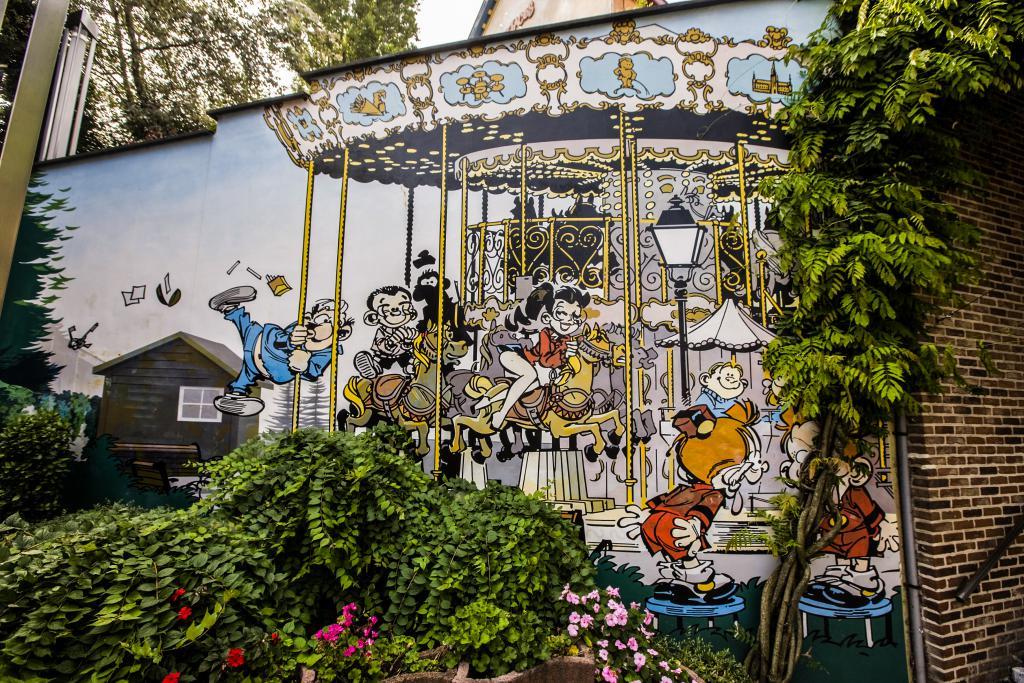 Le Petit Spirou (Tome et Janry) - Boulevard du Centenaire