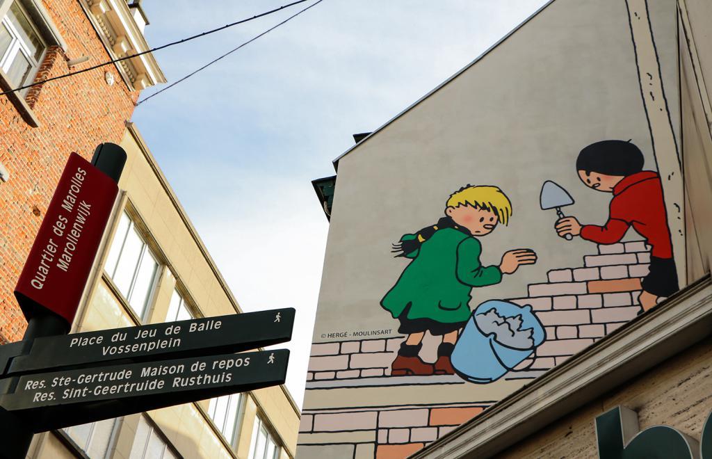 Quick et Flupke (Hergé) - Rue Notre-Seigneur 19