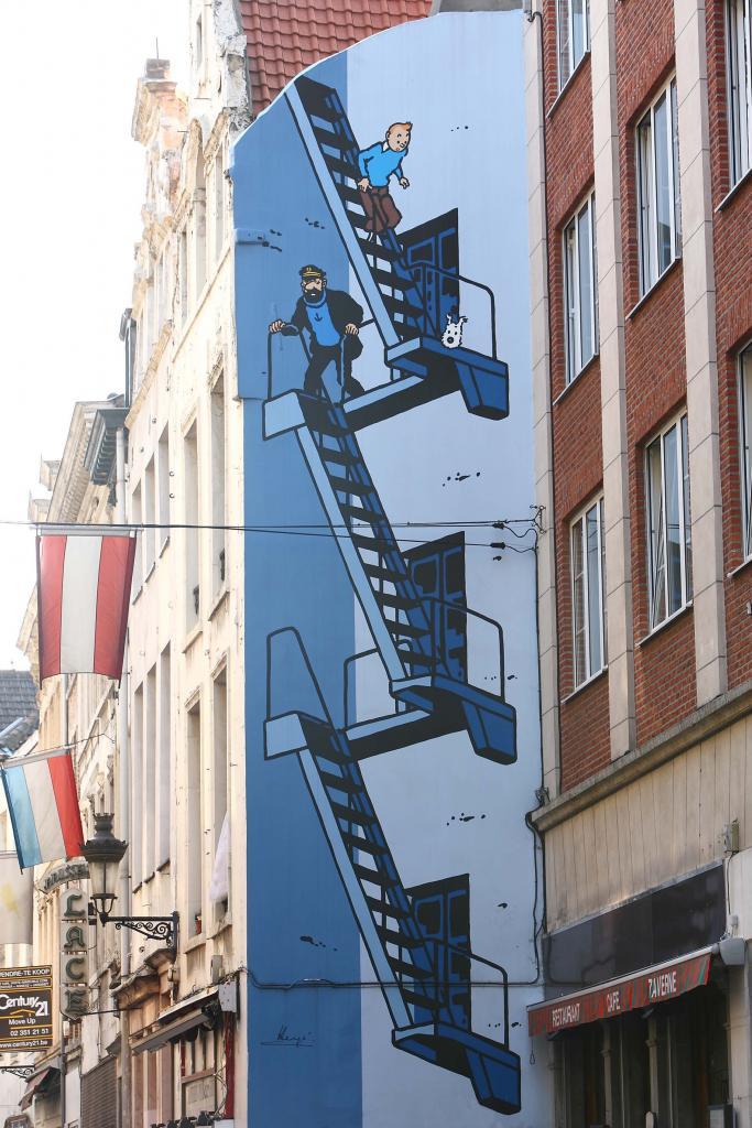 Tintin (Hergé) - Rue de l'Etuve