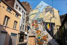 Boule et Bill (Roba) - Rue du Chevreuil - cliquez pour agrandir