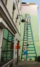 La Patrouille des Castors (Mitacq) - Rue Blaes - cliquez pour agrandir
