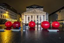 Brussels by Lights - place de la Monnaie - cliquez pour agrandir