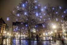Brussels by Lights - place Agora - cliquez pour agrandir