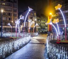 Brussels by Lights - place Fontainas - cliquez pour agrandir