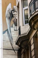 L'Ange de Sambre (Yslaire) - Rue des Chartreux - cliquez pour agrandir