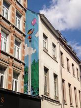 Benoît Brisefer (Peyo) - Rue Haute - cliquez pour agrandir
