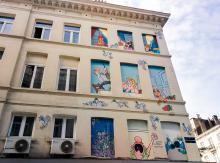 Froud et Stouf (F. Jannin et S. Liberski) - Boulevard Lemonnier - cliquez pour agrandir