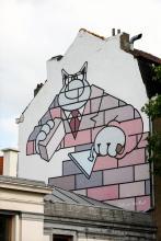 Le Chat (Geluck) - Boulevard du Midi - cliquez pour agrandir