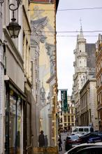 Le Passage (Schuiten) - Rue du Marché au Charbon - cliquez pour agrandir