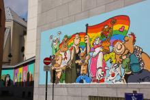 LGBT (Ralf König) - Rue de la Chaufferette - cliquez pour agrandir