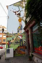 Néron (Marc Sleen) - Place Saint-Géry - cliquez pour agrandir