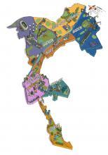 Carte générale - quartiers de la Ville de Bruxelles - cliquez pour agrandir