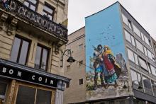 Thorgal (Grzegorz Rosinski & Jean Van Hamme) - Place Anneessens - cliquez pour agrandir
