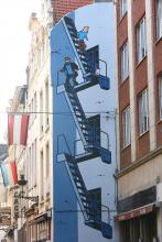 Tintin (Hergé) - Rue de l'Etuve - cliquez pour agrandir