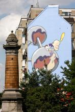 Titeuf (Zep) - Boulevard Emile Bockstael - cliquez pour agrandir
