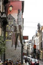 Victor Sackville - Rue du Marché au Charbon - cliquez pour agrandir