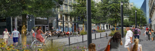Réaménagement boulevard Adolphe Max